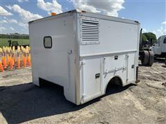 2013 Supreme 8' X 10' Enclosed Service Truck Body