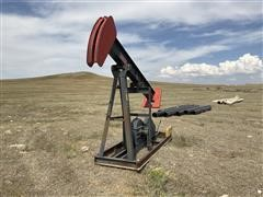 0401560 Pump Jack On Skid