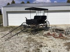 Horse Drawn Dual Seat Doctor Buggy