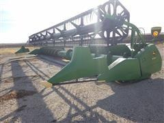 John Deere 635F HydraFlex Bean Platform