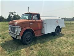 1965 Ford LN600 S/A Fuel Truck