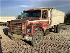 "1981 International S 1724 Grain Truck Single W/16"" Freeman Box"