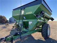 Demco 650 Posi-Flow Grain Cart