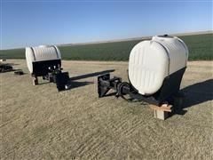 Wylie 200 Gal Saddle Tanks