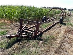 Shop Built Hydraulic Hay Trailer