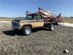 1978 Ford F250 4x4 Pickup Mounted Sprayer