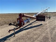 """Feterl 10"""" X 76' Swing Out Auger"""