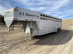 2007 Eby T/A Aluminum Livestock Trailer