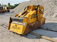 Crush-All CR125 Rock Crusher Attachment To Fit Hydraulic Excavator