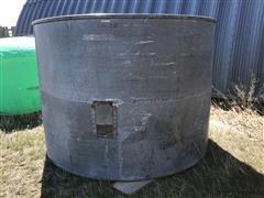 Homemade 240 Bushel Grain Tank