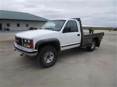 1989 GMC 2500 4x4 Pickup W/Bale Bed