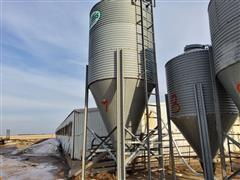 Gillis 8 Ton Bulk Feed Tank