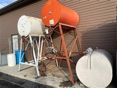 Gravity Fuel Barrels