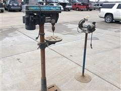 Drill Press & Stand Grinder