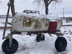 Trinity 3-Wheel Anhydrous Ammonia Tank