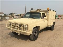 1986 Chevrolet 3500 4x4 Service/Utility Pickup