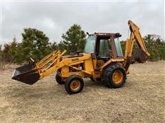 Case 580 Super E Construction King 2WD Loader Backhoe