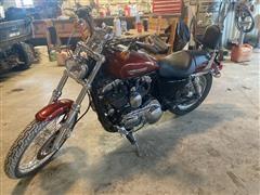 2009 Harley Davidson 1200 Custom Sportster Motorcycle