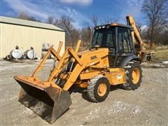 1998 Case 580L Series 2 4x4 Loader Backhoe