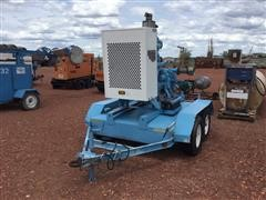 Cornell 3HA65B4-3 6' Trailer Mounted Water Pump