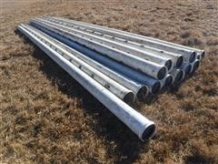 Gated PVC Irrigation Pipe