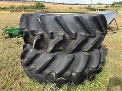 Goodyear 24.5-32 Tires W/John Deere Rims