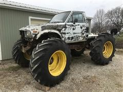 Chevrolet /Toyota 4x4 Off-road Mud Truck Project (INOPERABLE)
