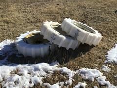 Mach II 11.2-24 Plastic Pivot Tires W/Rims