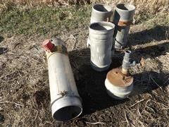 "Aluminum 8"" Irrigation Fittings"