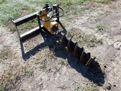 Danuser Hydraulic Drive Post Hole Digger
