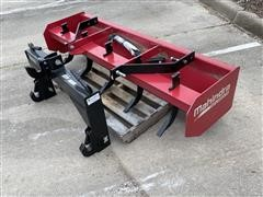 Mahindra 6' Box Scraper & Quick Hitch