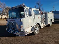 1972 Mack CF685F Fire Engine