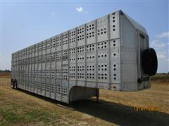 1979 Guthrie GCPB688 46' T/A Double Decker Livestock Trailer