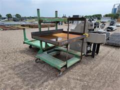 Heavy Duty Carts/Table/Printing Press