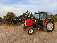 1998 Massey Ferguson 6170 2WD Tractor W/Loader