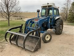 Ford 7000 2WD Tractor W/Loader