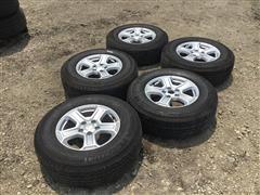 Michelin 245/75R17 Tires & Rims