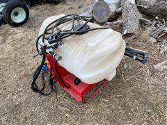 Fimco 55 Gallon 3-pt Sprayer w/ Boom & Spray Gun