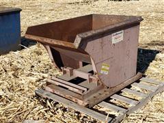 Galbreath 3/8 Yard Self Dumping Hopper