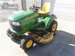 2002 John Deere X485 All-Wheel Steer Riding Lawn Mower