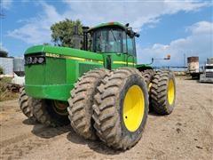 1988 John Deere 8650 4WD Tractor