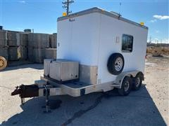 2000 Feat 12' T/A Enclosed Trailer