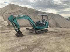 Komatsu PC35 R-8 Mini Excavator W/ Jack Hammer