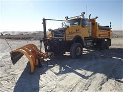 2005 Sterling LT9500 6X6 T/A Dump Truck W/Plow
