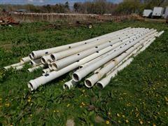 "Kroy 6"" PVC Gated Irrigation Pipe"
