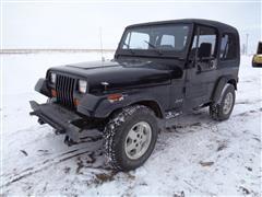 1993 Jeep Wrangler YJ 4x4 Sport Utility Vehicle