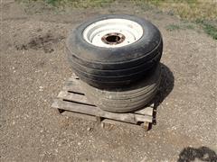 International 6 Bolt Rims W/11L-16 Tires