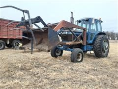 Ford 9700 2WD Tractor W/Loader