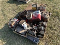 Farmall Parts And Antique Oil Cans