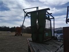 Powder River Cattle Working Chute